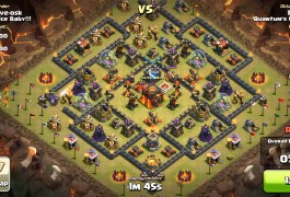TH10vsTH10対戦のGowiwi、Gowipe、ホグラッシュたっぷり動画